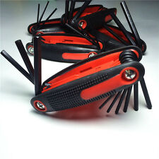 Red Black Wrenches Allen Hex Key Ring Wrench Set for Compound Bow Archery Tools