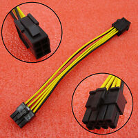6 Pin to 8 Pin PCI 20cm Express Cable PCIe Graphics Card Power Plugs Adapter CPU