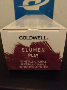 Goldwell Elumen Play Semi Permanent Haircolor Metallic Purple 4oz