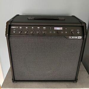 Line 6 Spider V120 Guitar Amp MK1 (Updated to MK2) + Hot Cover