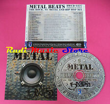 CD METAL BEATS LIBRARY MUSIC DEWOLFE HIP HOP ROCK Compilation no vhs mc dvd(C39)