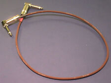"24"" Evidence Audio Monorail Patch Cable ~ Right Angle or Straight Connectors"