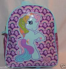 NEW  WITH  TAGS MY LITTLE PONY BACKPACK PURPLE