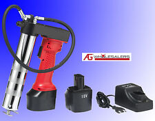 18V VOLT BATTERY ELECTRIC GREASE GUN - CORDLESS RECHARGEABLE INDUSTRIAL QUALITY