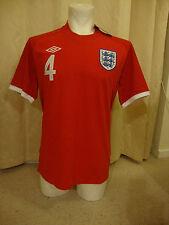 "England 2010-12 Short Sleeve Away Shirt by Umbro  - BNWT (42"" Chest) GERRARD"