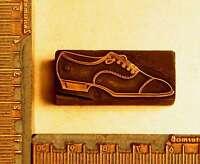 SCHUH Druckstock Klischee Galvano Schuhe Druckplatte Kupferklischee imprimerie