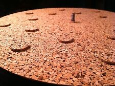 Cork Turntable Mat - Audiophile Mat for Vinyl Record LP's - Pure Cork