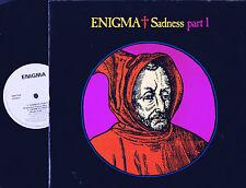 "ENIGMA Sadness Part 1 Single Maxi 12"" VINYL Virgin UK 1990 DINST101 @A-1U/B-1U@"