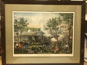 Battle of Champion Hills. (Civil War, Vicksburg Campaign) Kurz & Allison