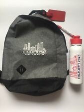 2020 Republican National Convention Charlotte Host Committee Backpack Bag Gifts