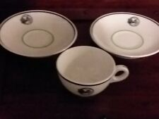 Daughters Of Rebekah Tea Cup And 2 Saucers Odd Fellows vintage teacup