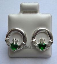 Orecchini di lusso con gemme in agata verde