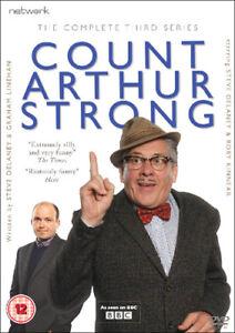 Count Arthur Strong: The Complete Third Series DVD (2017) Steve Delaney cert 12