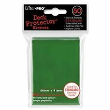 Ultra Pro Bustine STD Verde 50pz Card Protector - carte da Gioco/collezione
