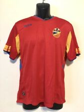 Espana Men's Soccer Jersey by Mitre, Red, Polyester - S, EUC