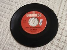 SHIRLEY ELLIS THAT'S WHAT THE NITTY GRITTY IS/GET OUT  CONGRESS 208