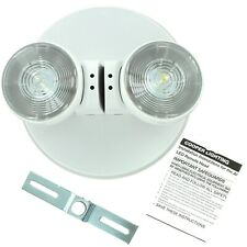 Cooper All Pro Apwr2 Emergency Double Head Led Exit Sign White