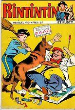 MENSUEL RINTINTIN ET RUSTY n°121 ° 02/1980 ° BONANZA/ZANE CANNON ° SAGEDITION