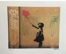 Banksy - Lithographie Signée Et Numerotée - Certificat - Street Art - Sur/150