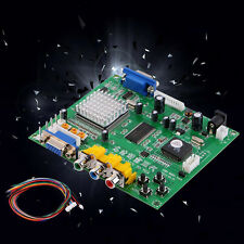 Converter Board RGB CGA EGA YUV To VGA HD Video HD9800 GBS8200 Mainboard