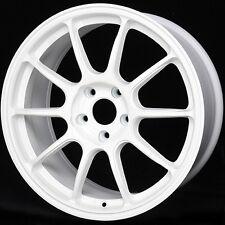 WHITE 17X9 +25 Rota SS10 R 5X114.3 Wheels Fit Sti EclipseLancer Evo 8 9 X 5X4.5