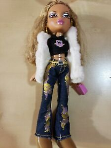 BRATZ GIRLZ DOLL WALKING YASMIN 2001