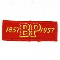 Vintage 1957 World Scout Founder Baden Powell BP UK SCOUTS 100 Anniversary Patch