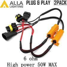 Alla Lighting 9005 9006 Load Resistor Car LED Bulb Anti Flicking Error Canceler