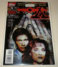 The X-FILES # 1 SPECIAL NUMBERED EDITION Topps Comic (January 1995)    VFN/NM