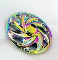 NEWEST Rainbow Colors Titanium Alloy Hand Fidget Spinner High Speed Focus ..