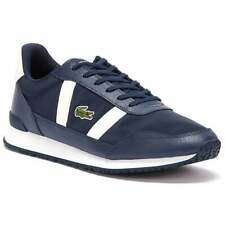 Lacoste Partner Navy / Off White (Z106) Textile / Leather Mens Trainers