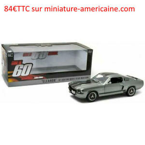 Ford Mustang Eleanor 1967 - Shelby GT500 - 60s Chrono - Greenlight 12909 1/18