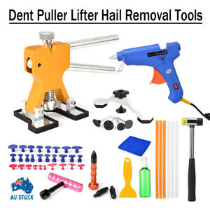 48x Car Paintless Dent Repair Dint Hail Damage Remover Puller Lifter Tool Kit AU