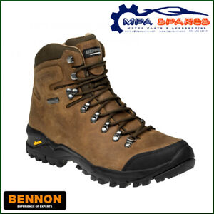 BENNON TERENNO HIGH QUALITY LEATHER HIKING BOOT WITH REGI-TEX® & VIBRAM®