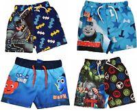 Boys Avengers,Thomas Tank and  Batman Swim Shorts Trunks  Ages 1.5 to 10 Years