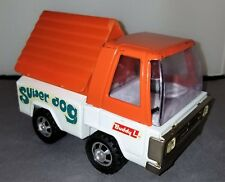 Vintage RARE Buddy L Super Dog Orange White Truck