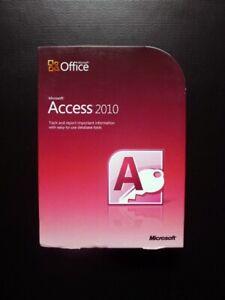 Microsoft Access 2010 Genuine DVD UK Retail Version 077-05753 (1 USER / 2 PCs)