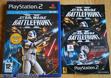 STAR WARS BATTLEFRONT II 2 PS2 & (60GB VERSION OF PS3 ONLY) COMPLETE Lucas Arts