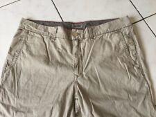 Pantalon TOMMY HILFIGER taille 36 soit 46/48 coton beige bon état