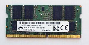 16GB DDR4 2400MHz Laptop SODIMM RAM Micron ~~ PC4-19200 2400T Memory 260pin