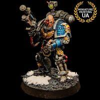 ⭐WH40K Space Marine Painted Ennox Sorrlock Iron Hands Overkill Deathwatch