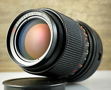 Nice M42 telephoto lens CARL ZEISS JENA MC SONNAR 3.5/135 Red MC * 135mm 1:3.5