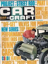 Car Craft Mag Offset Valves For Power Comet GT March 1966 102119nonr