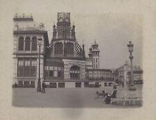 Ostende Bruxelles Belgique 8 petites photos amateur 1917