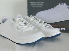 NEW MENS SIZE 9 WHITE HEAD HENRY LEATHER TENNIS SHOES FASHION SNEAKERS 1261765