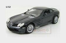 Mercedes Benz Slr Mclaren 2003 Black Met MOTORMAX 1:12 MTM73004BK