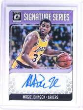 2018-19 Donruss Optic Signature Series Magic Johnson Autograph #SGMJS *75295