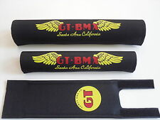 OLD SCHOOL BMX GT SANTA ANNA CALIFORNIA PAD SET PERFORMER VERTIGO PRO TOUR BLACK