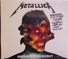 NEW/SEALED METALLICA- HARDWIRED...TO SELF DESTRUCT- 2 CD SET!