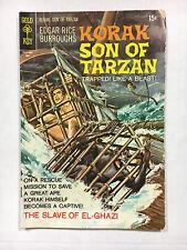 Korak Son of Tarzan #35  VG Gold key comic 1970  Painted cover